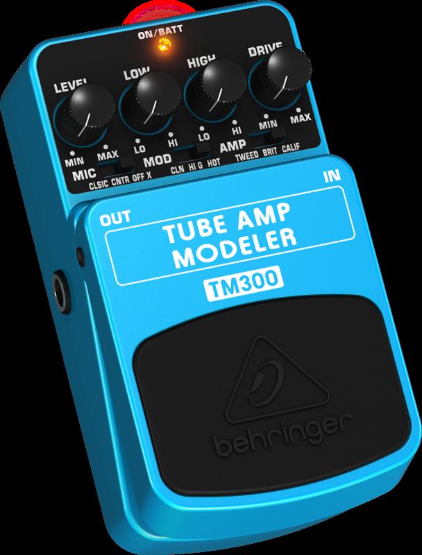 behringer tube amp modeling effects pedal long mcquade musical instruments. Black Bedroom Furniture Sets. Home Design Ideas