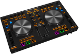 Behringer - 4 Deck DJ MIDI Controller w/4-Channel Audio