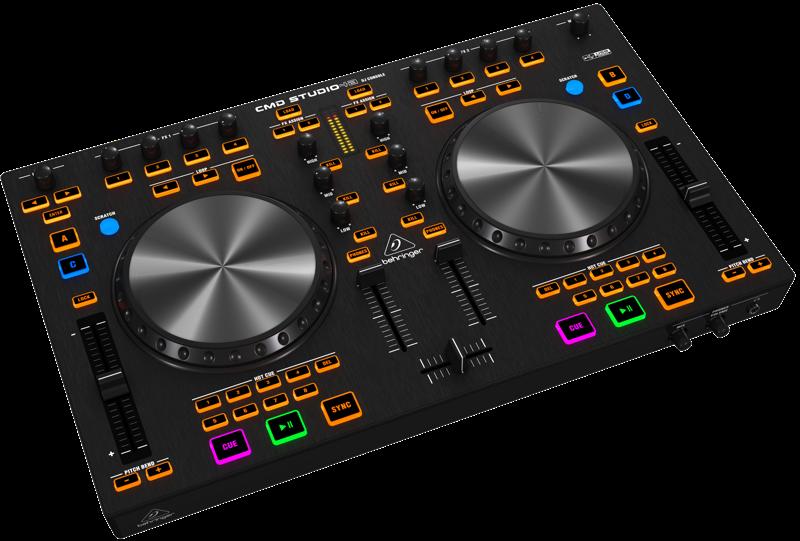 Behringer - 4 Deck DJ MIDI Controller w/4-Channel Audio
