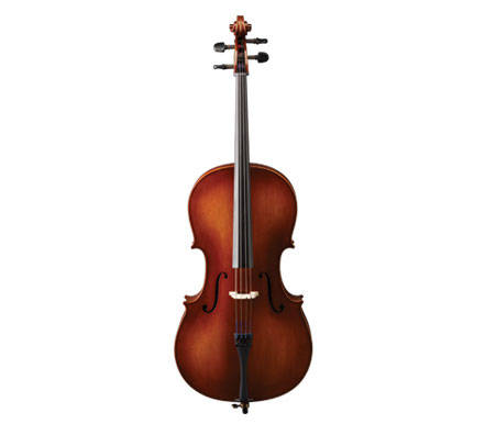 VC80ST Laminate Cello Outfit - 1/2
