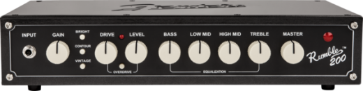 Rumble 200 Head - Rumble Series 200 Watt Bass Head (V3)