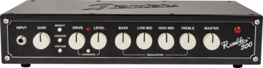 Rumble 500 Head - Rumble Series 500 Watt Bass Head (V3)