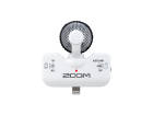 Zoom - Professional Stereo Mic for iPhone/iPad/iPod - White