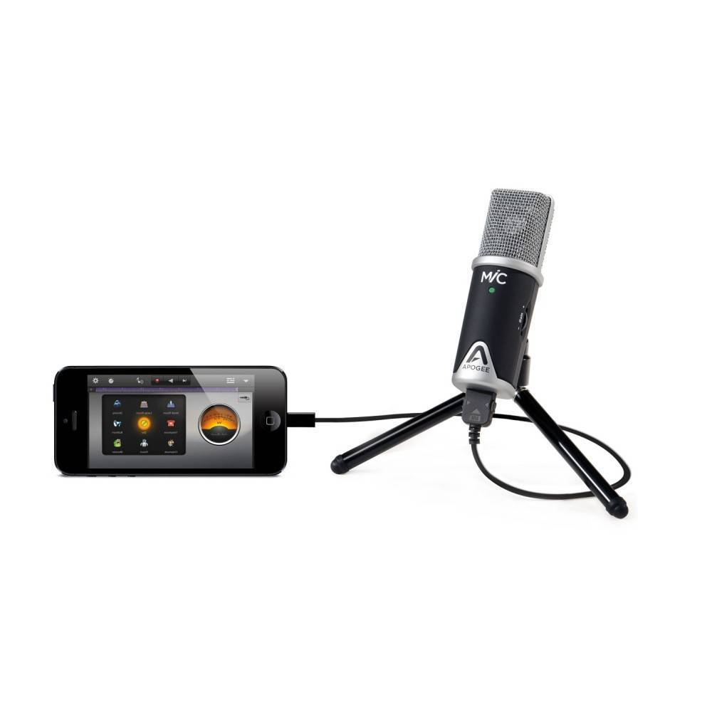 apogee usb microphone for ipad iphone and mac long mcquade musical instruments. Black Bedroom Furniture Sets. Home Design Ideas