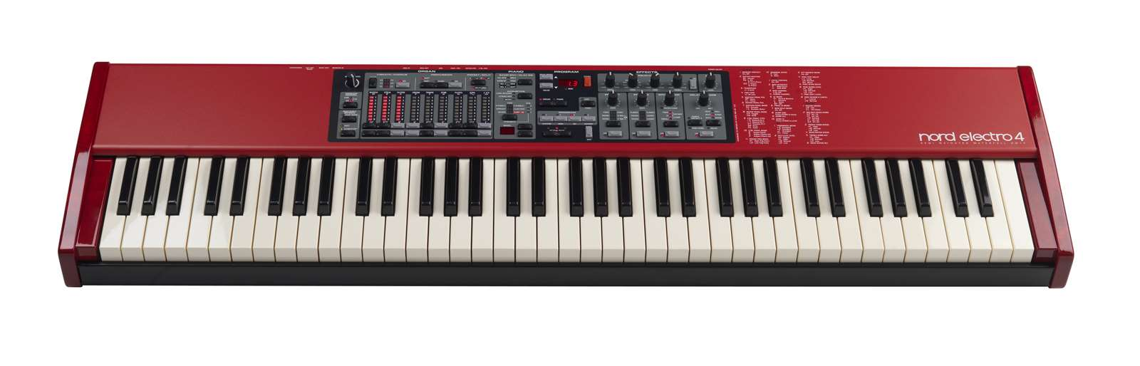 Nord 73 Note Semi-Weighted Waterfall Keyboard - Long & McQuade