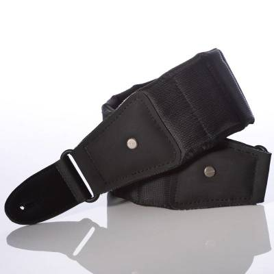 M80 Betty Guitar/Bass Strap - Long Length: 47-59 Inches, Black