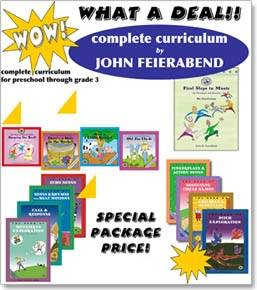 First Steps in Music: Preschool and Beyond - Feierabend - Bundle