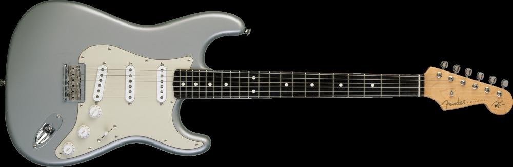 fender custom shop robert cray signature stratocaster electric guitar inca silver long. Black Bedroom Furniture Sets. Home Design Ideas