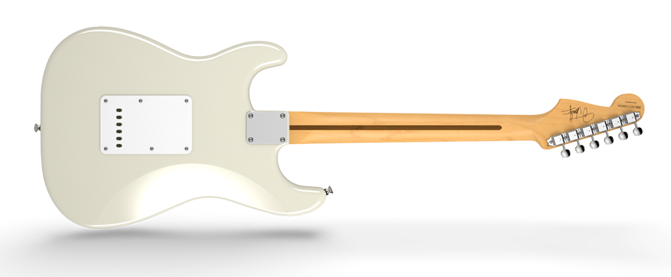 Fender Jimmie Vaughan Tex Mex Strat Guitar