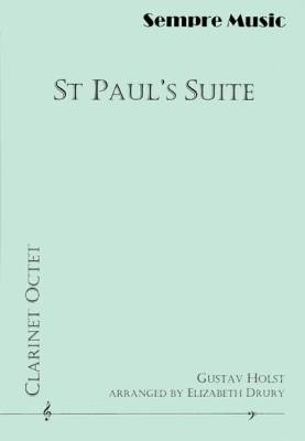 St. Paul's Suite - Holst/Drury - Clarinet Octet