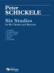 Theodore Presser - Six Studies For Clarinet and Bassoon - Schickele - Clarinet/Bassoon