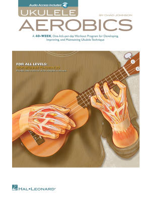 Ukulele Aerobics - Johnson - Book/Audio Online