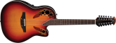 Ovation - Standard Elite 12 String Deep Acoustic/Electric - New English Burst