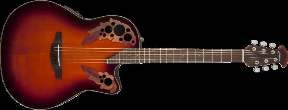 Ovation Celebrity CC2474 Acoustic-Electric Bass Guitar ...