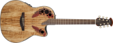 Ovation - Celebrity Elite+ Mid Depth Acoustic/Electric - Spalted Maple