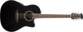 Ovation - Celebrity Standard Mid Depth Acoustic/Electric - Black