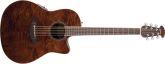 Ovation - Celebrity Standard Plus Mid Depth Acoustic/Electric - Nutmeg Burled Maple