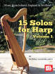 Mel Bay - 15 Solos for Harp Volume 1 - Mandelartz - Celtic Harp - Book