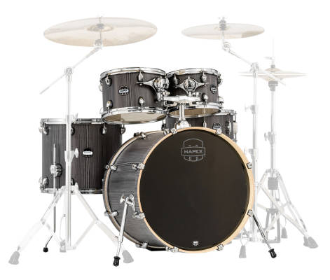 Mars Series 5 Piece Shell Kit - Smokewood