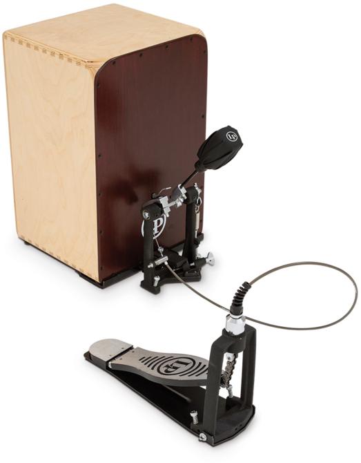 latin percussion cajon pedal long mcquade musical instruments. Black Bedroom Furniture Sets. Home Design Ideas