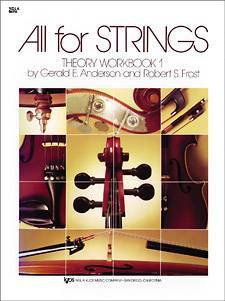 All For Strings Theory Workbook 1 - Viola
