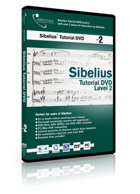 Sibelius Level 2 DVD