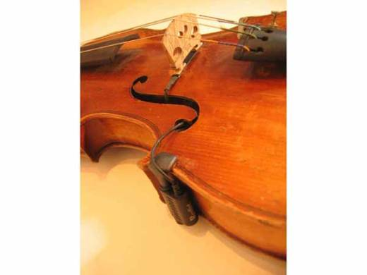 Transducer For Violin