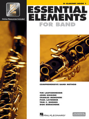 Essential Elements for Band Book 1 - Clarinet - Book/Media Online (EEi)
