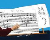 Hal Leonard - Erasable Music Chart Boards