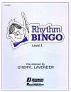 Hal Leonard - Rhythm Bingo - Level 1 - Lavender - Game
