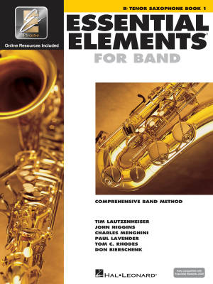 Essential Elements for Band Book 1 - Tenor Saxophone - Book/Media Online (EEi)