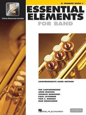 Essential Elements for Band Book 1 - Trumpet - Book/Media Online (EEi)