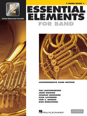 Essential Elements for Band Book 1 - F Horn - Book/Media Online (EEi)