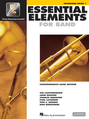 Essential Elements for Band Book 1 - Trombone - Book/Media Online (EEi)