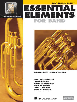 Essential Elements for Band Book 1 - Baritone B.C. - Book/Media Online (EEi)