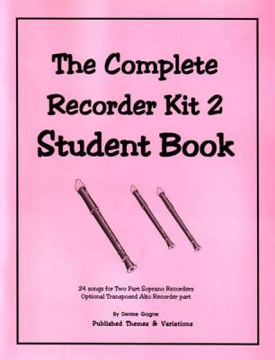 Recorder Resource Student Book 2 - Gagne - Book