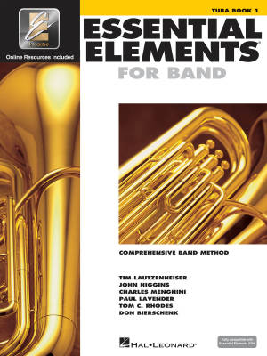 Essential Elements for Band Book 1 - Tuba - Book/Media Online (EEi)
