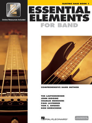 Essential Elements for Band Book 1 - Electric Bass - Book/Media Online (EEi)