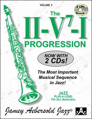 Jamey Aebersold Vol. # 3 - The ii/V7/I Progression