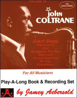 Jamey Aebersold Vol. # 28 John Coltrane