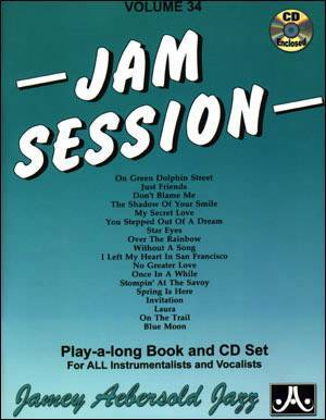 Jamey Aebersold Vol. # 34 Jam Session