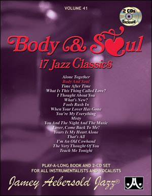 Jamey Aebersold Vol. # 41 Body And Soul