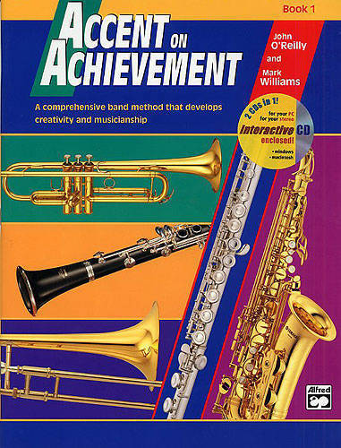 alfred publishing accent on achievement book 1 combined percussion long mcquade musical. Black Bedroom Furniture Sets. Home Design Ideas