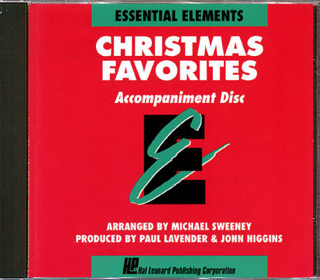 Essential Elements Christmas Favorites - Sweeney - Accompaniment CD
