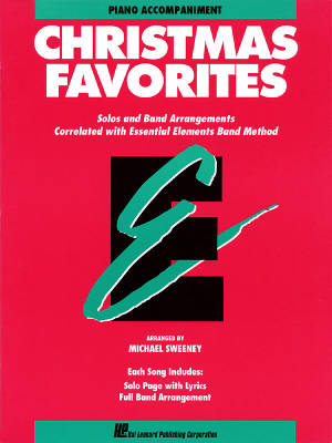 Essential Elements Christmas Favorites - Sweeney - Piano Accompaniment - Book