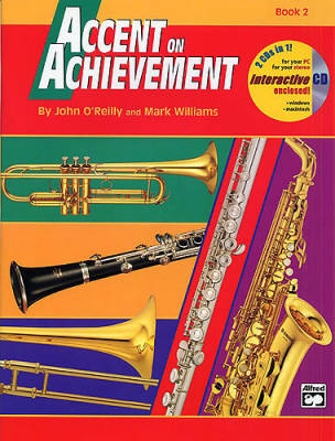 Accent on Achievement Book 2 - Alto Sax