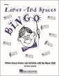Hal Leonard - Lines and Spaces Bingo - Lavender - Game