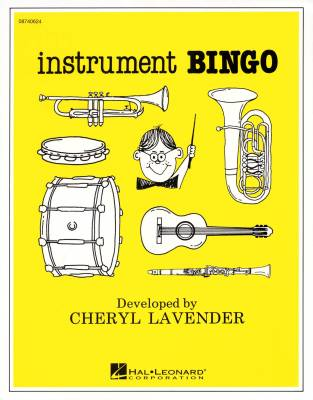 Instrument Bingo - Lavender - Game