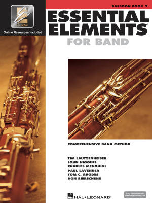 Essential Elements for Band Book 2 - Bassoon - Book/Media Online (EEi)