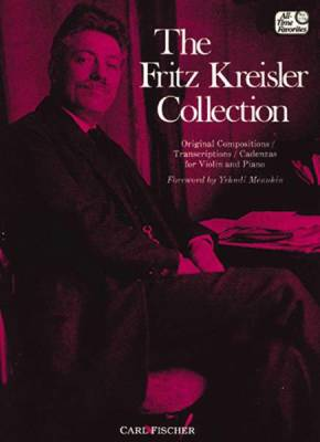 The Fritz Kreisler Collection Vol. 1 - Violin/Piano - Book